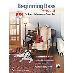 Alfred Beginning Bass for Adults Book & CD (00-40272)