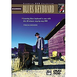 Alfred Beginning Blues Keyboard (Book/DVD) (00-22621)
