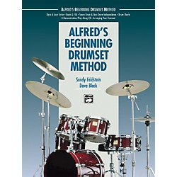 Alfred Beginning Drumset Method Book with CD (00-16926)