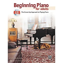 Alfred Beginning Piano for Adults Book & CD (00-40150)