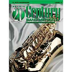 Alfred Belwin 21st Century Band Method Level 3 Alto Sax Book (00-B21306)