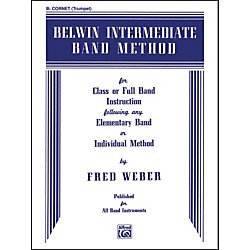 Alfred Belwin Intermediate Band Method B-Flat Cornet (Trumpet) (00-EL00268)