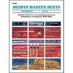 Alfred Belwin Master Duets (Trumpet) Easy Volume 1 (00-EL03228)
