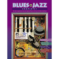 Alfred Blues & Jazz Complete for Keyboard (Book/2-CDs) (00-18429)