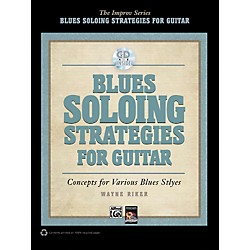 Alfred Blues Soloing Strategies for Guitar - Book & CD (00-37766)