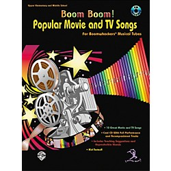 Alfred Boom Boom! Popular Movie and TV Songs for Boomwhackers Book with CD (00-BMR07016CD)