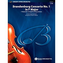 Alfred Brandenburg Concerto No. 1 in F Major Concert String Orchestra Grade 4 Set (00-40494)