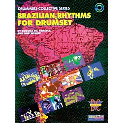 Alfred Brazilian Rhythms For Drumset (Book/CD) (00-MMBK0009CD)