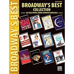Alfred Broadway's Best Collection Easy Piano Book (00-32004)