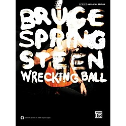 Alfred Bruce Springsteen - Wrecking Ball Guitar TAB Book (00-39365)