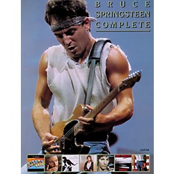 Alfred Bruce Springsteen Complete Guitar/Vocal/ Chords (00-P0777GTX)