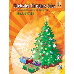 Alfred Celebrated Christmas Solos Book 1 (00-26141)