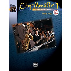Alfred Chop-Monster Book 1 Alto Saxophone 1 Book & CD (00-251551)