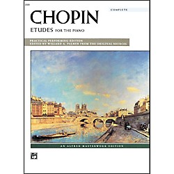 Alfred Chopin Etudes (Complete) Early Advanced/Advanced Piano (00-2500C)