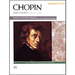 Alfred Chopin Nocturnes (Complete) Late Intermediate/Advanced Piano (00-2482C)