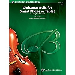 Alfred Christmas Bells for Smart Phone or Tablet String Orchestra Grade 2.5 Set (00-41214)