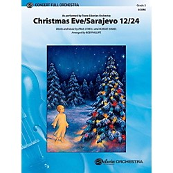 Alfred Christmas Eve/Sarajevo 12/24 Full Orchestra Level 3 Set (00-41236)