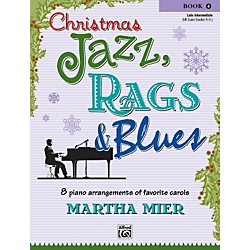 Alfred Christmas Jazz Rags & Blues Piano Book 4 (00-26140)