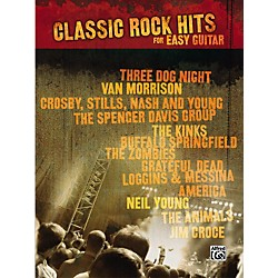Alfred Classic Rock Hits Easy Guitar Tab Songbook (322006)