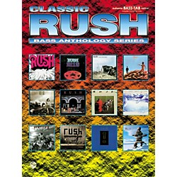 Alfred Classic Rush Anthology Series Bass Tab Book (00-0138B)