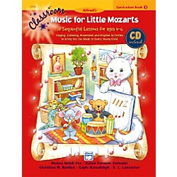 Alfred Classroom Music for Little Mozarts Curriculum Book 1 & CD (00-22023)