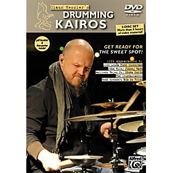 Alfred Claus Hessler's Drumming Kairos 2 DVDs pdf Booklet and Poster (00-20220US)