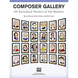 Alfred Composer Gallery: 24 Caricature Posters of the Masters (00-42973)