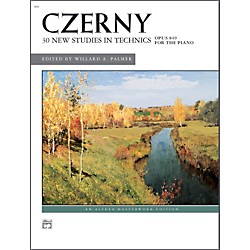Alfred Czerny 30 New Studies in Technique Op. 849 Advanced Piano (00-591)