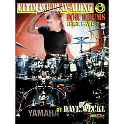 Alfred Dave Weckl Ultimate Play-Along Drum Trax Level 1 Volume 2 / Book & 2 CDs (00-MMBK0063CD)