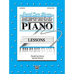 Alfred David Carr Glover Method for Piano Lessons Level 1 (00-FDL01006)