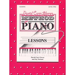 Alfred David Carr Glover Method for Piano Lessons Level 2 (00-FDL01011)
