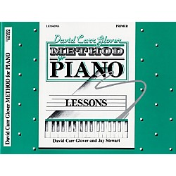 Alfred David Carr Glover Method for Piano Lessons Primer (00-FDL01001)