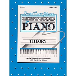 Alfred David Carr Glover Method for Piano Theory Level 1 (00-FDL01009)