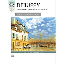 Alfred Debussy An Introduction to His Piano Music Book & CD (00-24460)