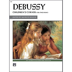 Alfred Debussy Children's Corner Late Intermediate / Early Advanced Piano (00-667)