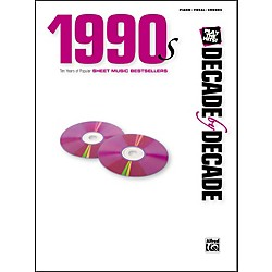 Alfred Decade by Decade 1990s Piano/Vocal/Chords (00-32680)