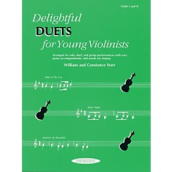 Alfred Delightful Duets for Young Violinists, Violin Part (Book) (00-0608)