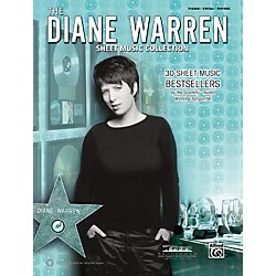 Alfred Diane Warren - Sheet Music Collection Book (00-37493)