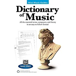 Alfred Dictionary of Music Mini Music Guides Book (00-41043)