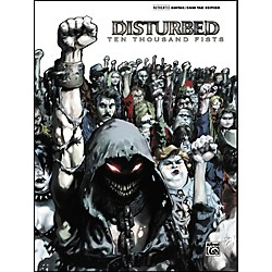 Alfred Disturbed 10000 Fists Guitar Tab Songbook (699965)