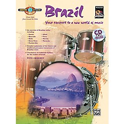 Alfred Drum Atlas: Brazil (Book/CD) (00-32671)