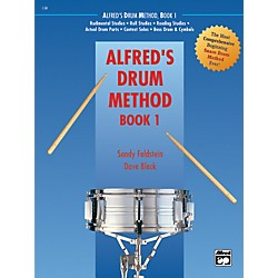 Alfred Drum Method Book 1 with DVD (00-21456)