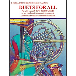 Alfred Duets for All Alto Saxophone (E-Flat Saxes & E-Flat Clarinets) (00-PROBK01327)