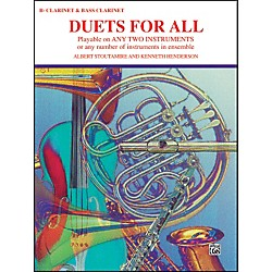 Alfred Duets for All B-Flat Clarinets Bass Clarinet (00-PROBK01326)