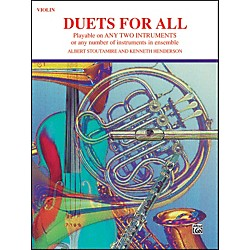 Alfred Duets for All Violin (00-PROBK01334)
