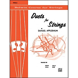 Alfred Duets for Strings Book I Viola (00-EL01991)