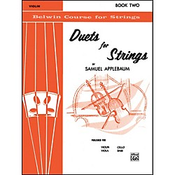 Alfred Duets for Strings Book II Violin (00-EL02018)