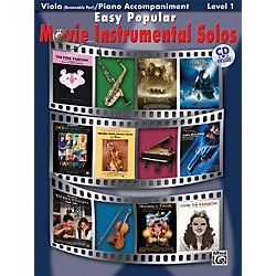 Alfred Easy Popular Movie Instrumental Solos (00-28168)