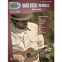 Alfred Easy Ukulele Play-Along Hard Rock for Ukulele Book & CD (322410)