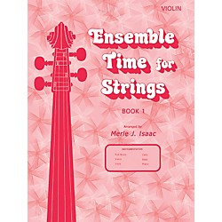 Alfred Ensemble Time for Strings Book 1 Violin (00-12536)